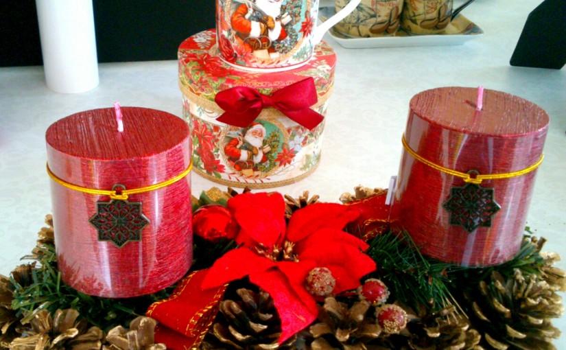 Decorar la mesa en Navidad y que quepa la comida