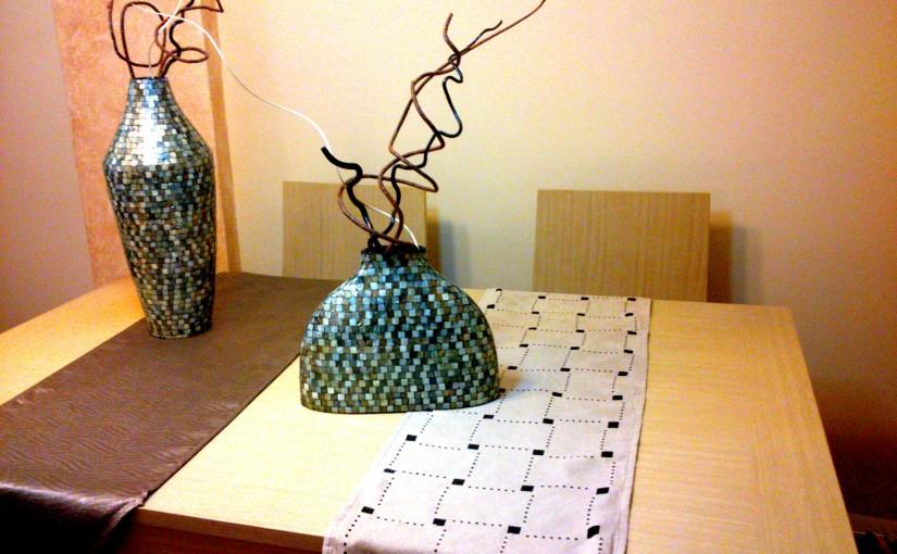 Caminos de mesa, decoración práctica