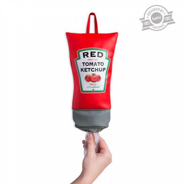 guardabolsas ketchup