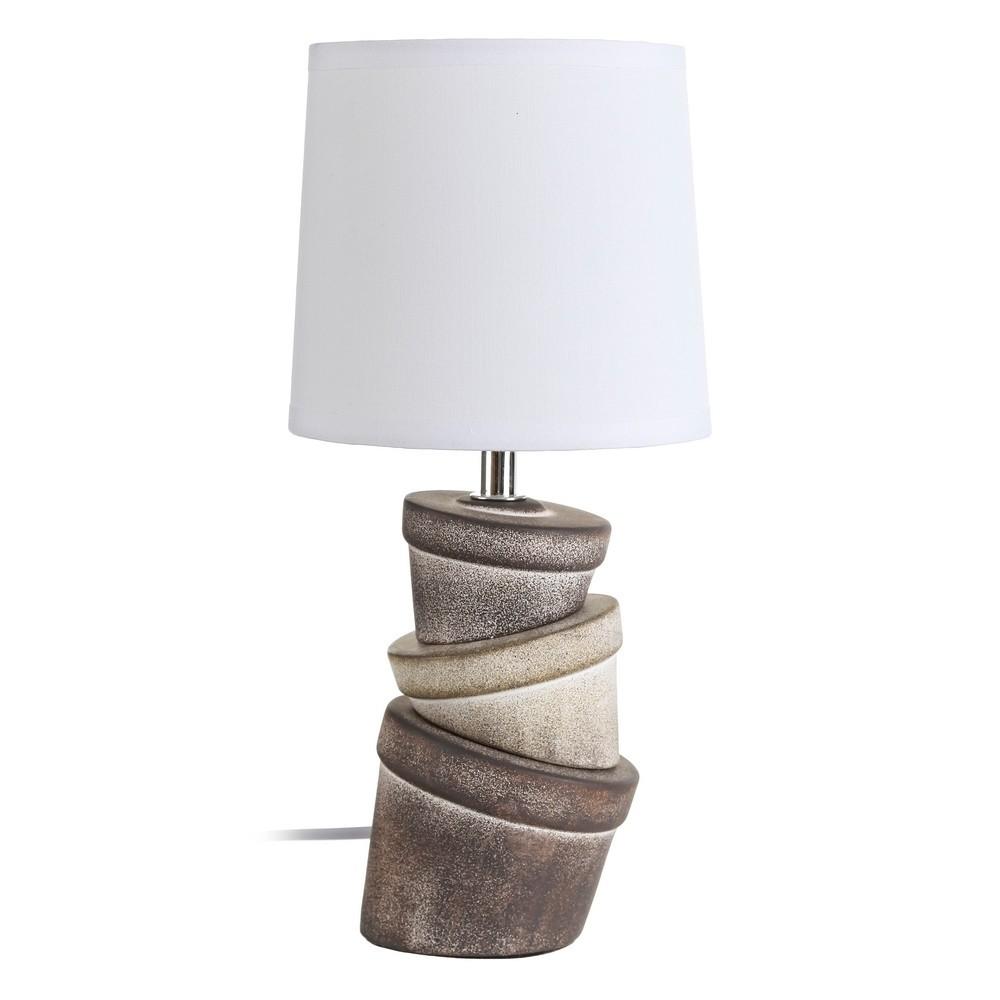 lámpara macetas