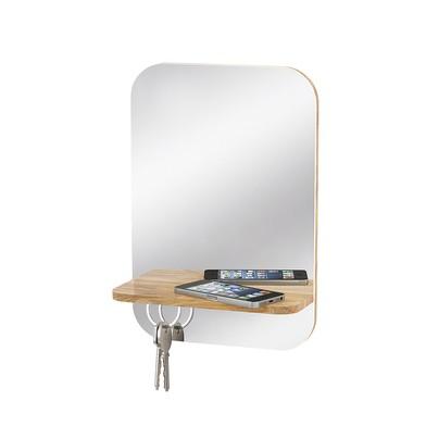 espejo con cuelgallaves
