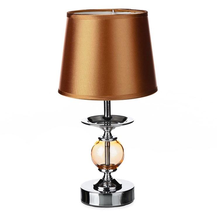 lámpara metal / cristal