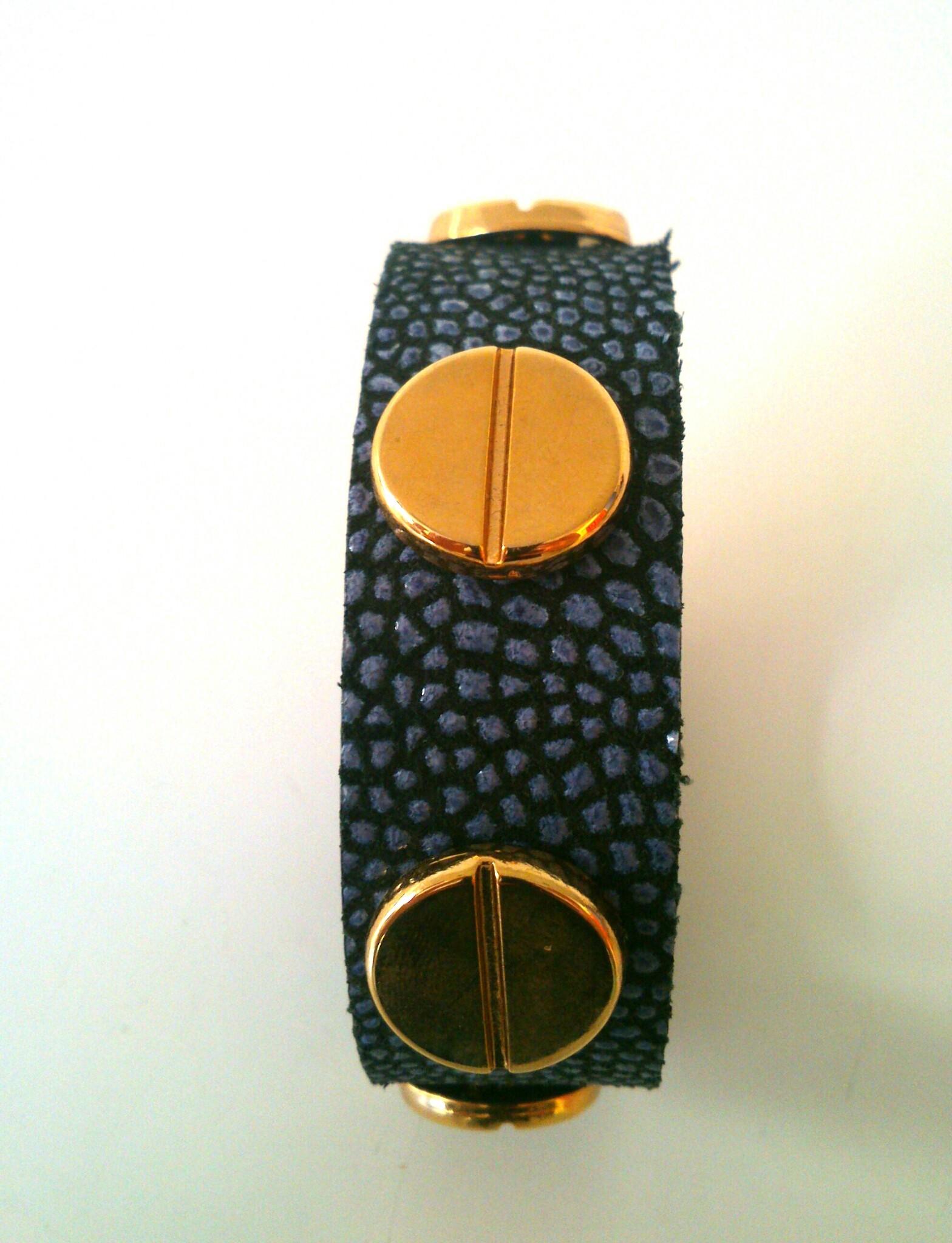 pulsera toscana azul