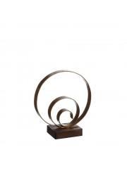 figura metal espiral pequeña