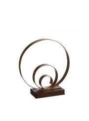 figura metal espiral