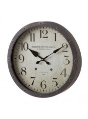 reloj metal envejecido