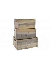 cajas madera boho