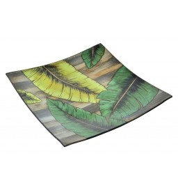 bandeja cristal tropical